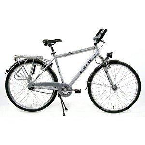 Trekkingrad für die Stadt